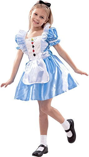 Alice im Wunderland - Disney - Kostüm Karneval De Luxe kollektion (Wunderland Im Kostüme Baby Alice)
