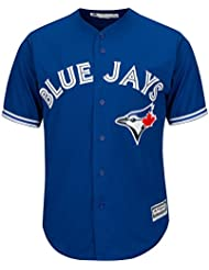 Majestic toronto blue jays mLB cool base maillot bleu