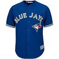 Majestic Toronto Blue Jays Cool Base MLB Trikot Alternate Blau