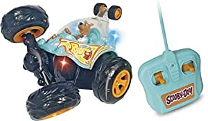 Lansay 11774 radio commande voiture scooby doo cyclone r c jeux et jouets - Voiture de scooby doo ...