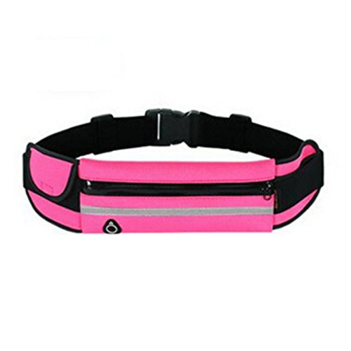 Outdoor Sports kattle, multifunktional Running belt-fanny Pack Taille Tasche, rosarot