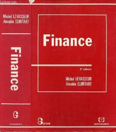 Finance par Aimable Quintart