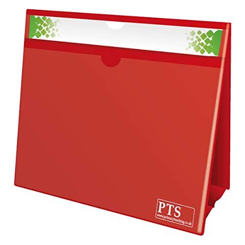 Primary Teaching Services DTS4 A4 150Blatt doppelseitig Fraktion Focus, Rot