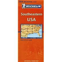 Carte RGIONAL Southeastern USA