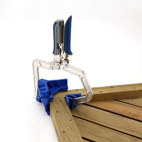 41TT8XOl5yL - BlakeSha36 Mitre Jigs Herramienta de Abrazadera de Esquina multifunción para carpintería Juntas en T para Kreg Jigs Blue