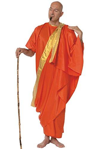 Tibetanischer Mönch Kostüm (Kostüm Hare Krishna)
