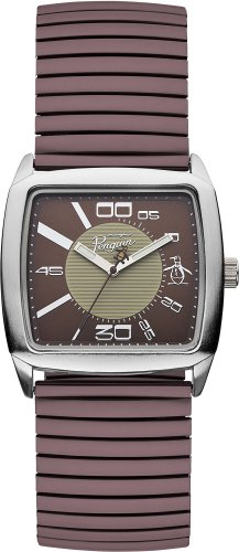 original-penguin-op5010br-reloj-analogico-de-cuarzo-para-hombre-color-marron