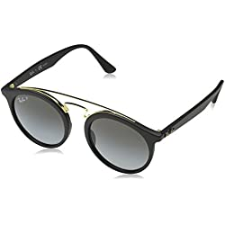 Ray-Ban 0Rb4256, Gafas de Sol Unisex-Adulto, Matte Black, 49