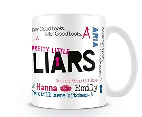 Pretty Little Liars Killer Good Looks Themed Funny 11 oz Tea/Coffee Gift .Birthday/Christmas Gift.