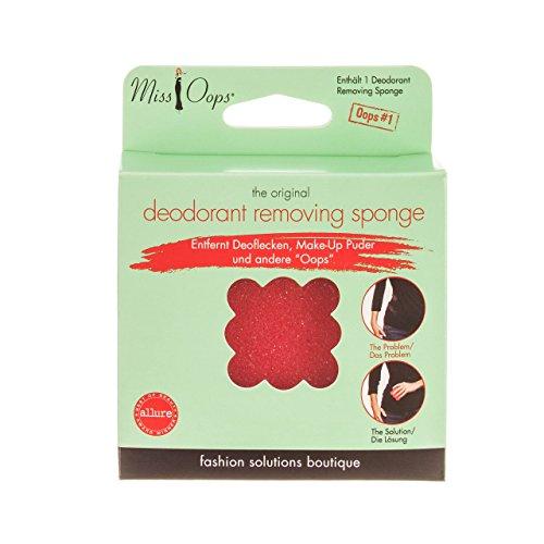 Miss Oops deodorant removing sponge, 1er Pack (1 x 1 Stück)