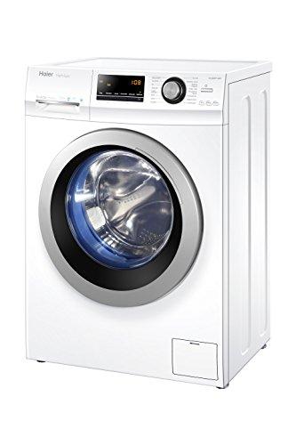 Haier HW100-BP14636 Waschmaschine Frontlader/A+++ / 10 kg / 1400 UpM/Vollwasserschutz / Weiß