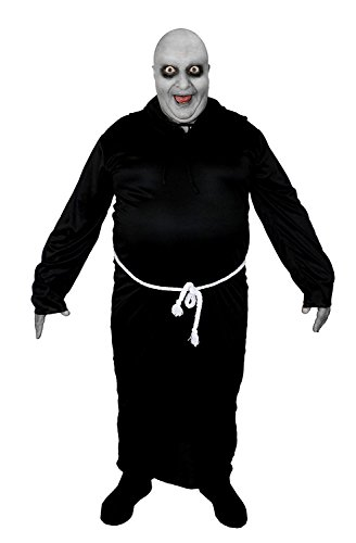 GLATZKÖPFIGER FESTER ONKEL KOSTÜM BEKANNT AUS EINER FILM UND FERSEHN SERIE =HALLOWEEN KOSTÜM VERKLEIDUNG DER BESONDEREN ART = VON ILOVEFANCYDRESS® - BRAUNE ODER SCHWARZE ROBE BEIDE ERHALTBAR IN 6 VERSCHIEDENEN (Halloween Kostüme Hades)