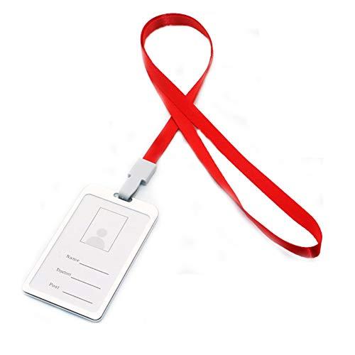 Especificaciones:    Tipo: tarjetero.    Material: aleación de aluminio.    Uso: tarjeta de identificación, tarjeta de nombre, tarjeta de trabajo.    Características: portátil, accesorio de trabajo, duradero.    Tamaño: 45 cm x 1,5 cm (aproximadam...