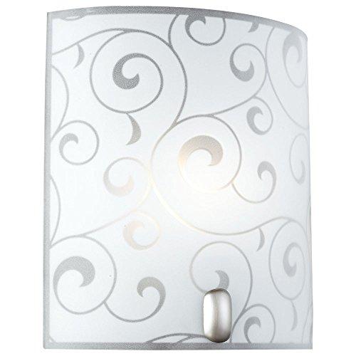 LED 7 Watt parete apparecchio specchio lampada raso illuminazione bagno metallo vetro