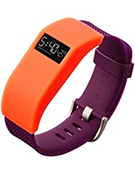 For Fitbit Charge / Charge HR, Ouneed ® Diseñador delgada de la cubierta de la banda para la caja de la manga de Fitbit Carga / Carga HR (naranja)