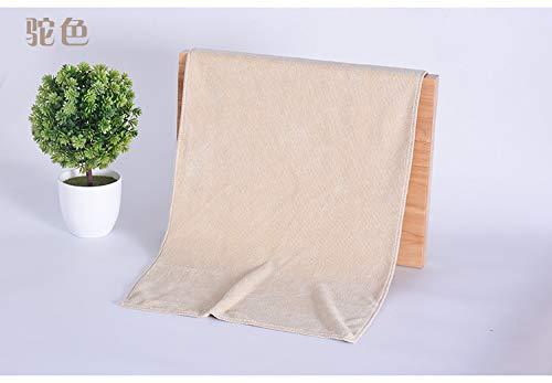 GBSHOP Badetuch Großhandel 10 Sätze von super saugfähigen Wolle Hause Beauty-Salon Baotou Friseur spezielle Handtuch maßgeschneiderte Logo Druck, Kamel (mittlere Dicke) 10 Pack, 30x70cm