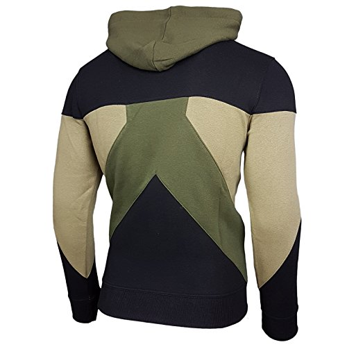 Herren Kapuzenpullover Langarm Sweatshirt Pullover Hoodie Sweatjacke Jacke 19042 Olive
