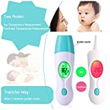 amiciSense 5 in 1 Multi-Function Infrared Laser Thermometer for Baby and Adults