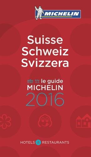 Guide Michelin Suisse 2016