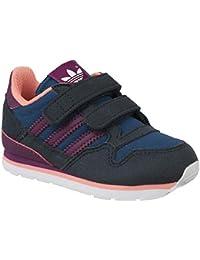 promo code 2e2ec 537bb adidas - ZX 500 CF J - S75772 - Farbe Schwarz-Violett - Größe