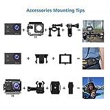 Victure Action Cam 4K Wifi 170° Weitwinkel Wasserdicht 40M Unterwasserkamera 20MP Ultra Full HD - 8
