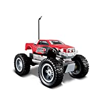 Great Rock Crawler in smaller size Articulated Front and Rear Suspensions Off Road Pick up styling Approx 8 inches long Requires 4 AA batteries for vehicles and 1 9V battery for control not included