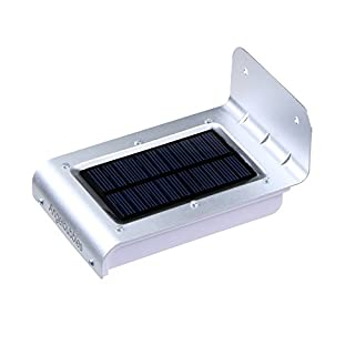 Angelbubbles Verbesserte intelligent Solar Bewegung Sensor Beleuchtung 16 LED Max 300 IP65 Wasserdicht (1)