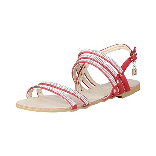 Laura Biagiotti 373 Sandales Femme ROSSO