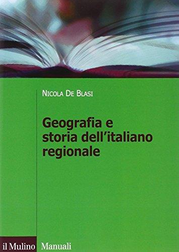 Geografia e storia dell'italiano regionale