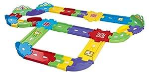 VTech 80-148104 – Tut Tut Baby Flitzer – Straßen Erweiterungsset, groß
