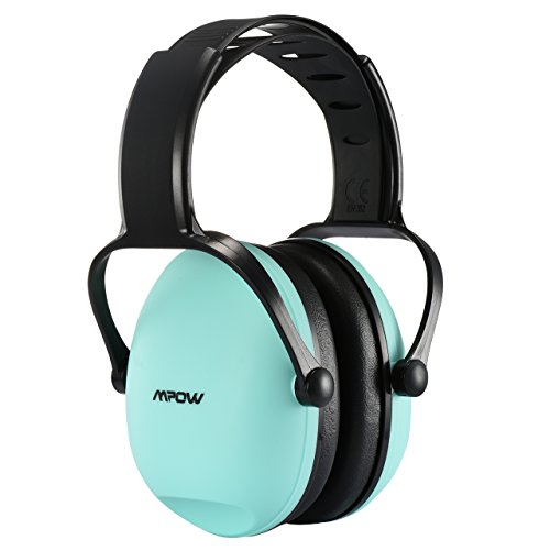 Mpow Casque Anti bruit Enfant Adulte Réglable avec Sac Transport, Casques Antibruit à Protection Auditive de Réduction du Bruit pour Concert Feu d'Artifice, Cache-Oreille NRR 22dB/SNR 26dB