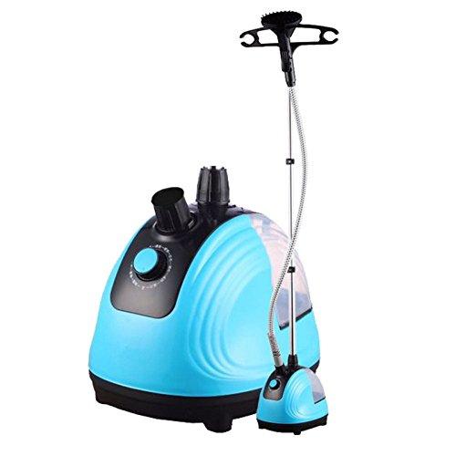 QIAOY Haushalt Kleidung Dampfer Einstellbarer Dampfdurchfluss Bügeleisen Dampfgarer Home Steam Kleine Mini Handheld Stand-up-Bügeleisen,Blue