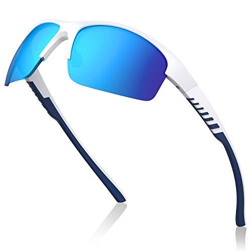 Avoalre Gafas Sol Polarizadas Deportivas Azul Gafas