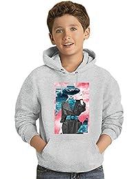 Blue Ocean Los niños Hoodie ligero Lightweight Hoodie For Kids | 80% Cotton-20%Polyester|