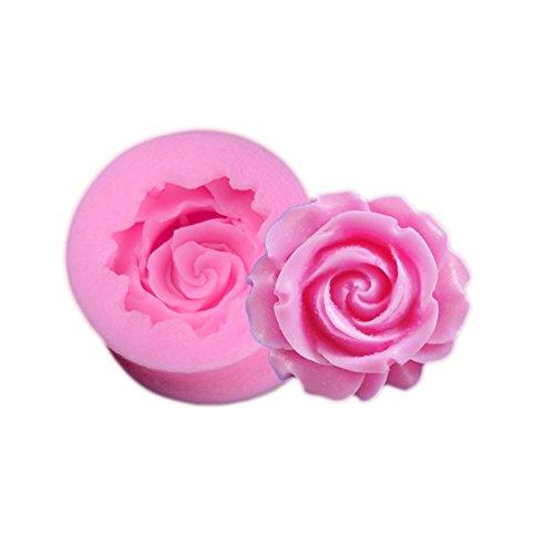 Cupcinu Blumen Form Silikon Form Fondant Kuchen Form DIY Gummi Süßigkeits Schokoladen Form, Farbe gelegentlich