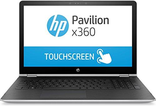 HP Pavilion x360 15 Pentium 15.6 inch SVA Convertible Silver