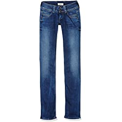Pepe Jeans Venus Jeans, Blu (Denim 10Oz Authentic Rope STR Med D24), 34W / 30L Donna