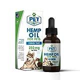 Pet Recovery Rx Natural 250mg Hemp Oil Drop for Pets - 1ml / 30oz...
