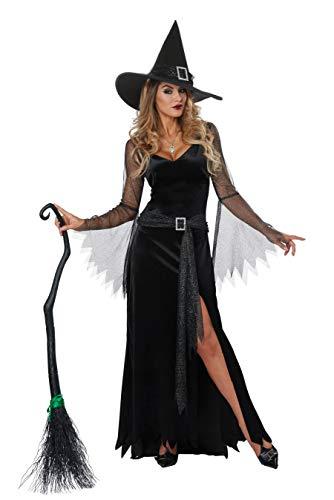 Womens Rich Witch Fancy dress costume Medium