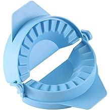 OurLeeme Prensas para raviolis, herramienta para sujetar las bolas de masa hervida manual (azul