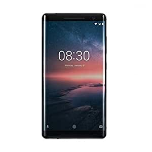 Nokia 8 Sirocco Smartphone(6 GB/12MP/13MP Camera, Wide-angle Front Camera, Dual sight mode, Qualcomm Snapdragon, 4G/3G) - Black