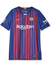 Nike FCB Y NK BRT STAD JSY SS HM T-Shirt, Unisex niños,