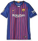 Nike Kinder FC Barcelona Stadium Home T-Shirt, Deep Royal Blue/University Gold, L