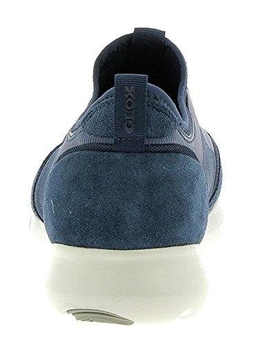 Deporte Hombres Zapatillas Para De De Geox Moda Azules pavqOw