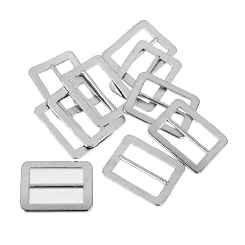 20pcs Tri-glide Metal Buckles Adjust Slider