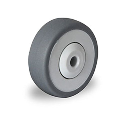Einbaurad 50 mm Apparaterolle TPE Kugellager