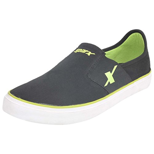 SPARX Black-Green Sneaker's Size-7 (SM214)
