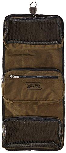 camel active Tasche Journey B00 57 cm 6.0 liters Schwarz B00 402 60 Grün/Schwarz