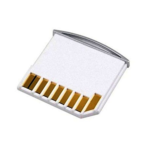 Zillotech Micro SD TF to SD Card Kit Mini Adaptor for Extra Storage Macbook Air / Pro / Retina White
