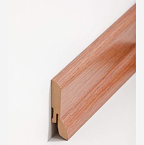 Innenecke 52mm PVC Eiche prestige Laminatleisten Fussleisten aus Kunststoff PVC Laminat Dekore Fu/ßleisten DQ-PP